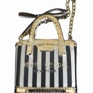Henri Bendel shopping bag ornament